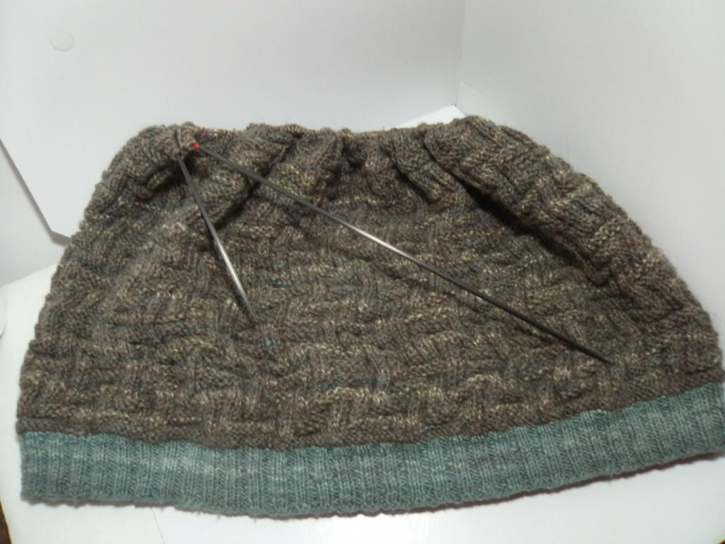 Mr X's Sweater Aztec Maze