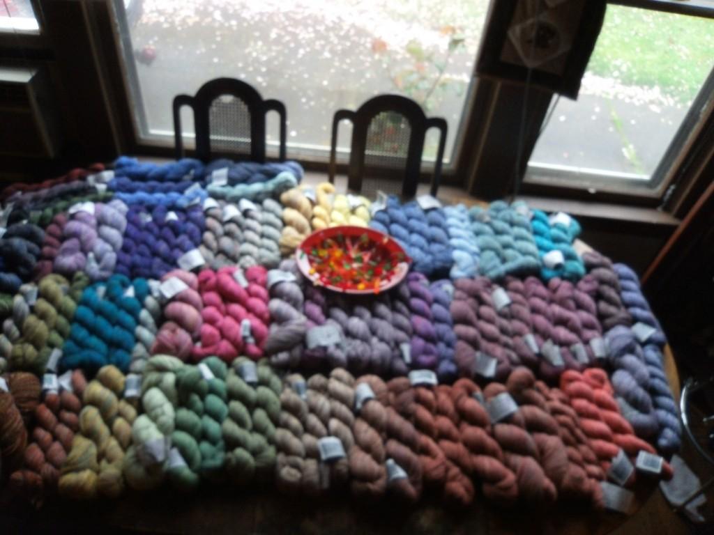 New Hue Handspuns handspun yarn