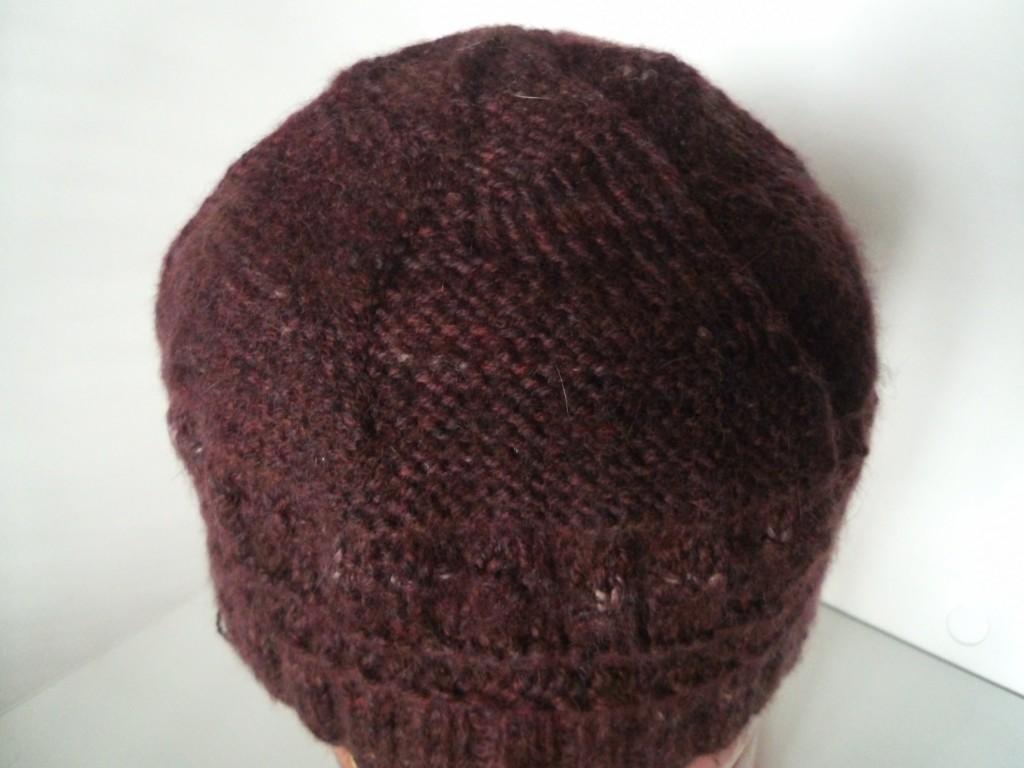 New Hue Handspun Angora,Merino,Alpaca hat