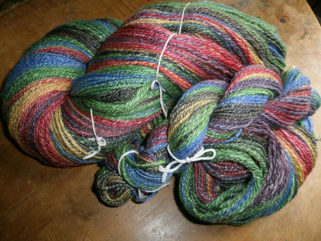 New Hue Handspuns Bam Huey Handspun yarn