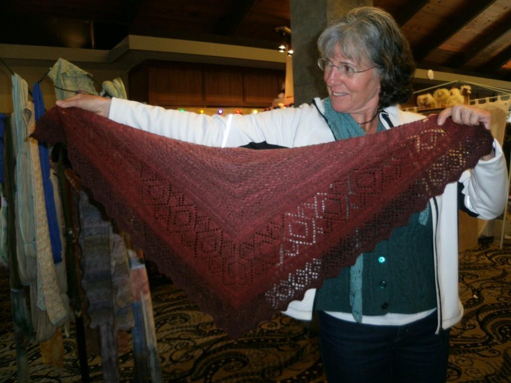 New Hue Handspuns Baa Baa Huey handspun lace