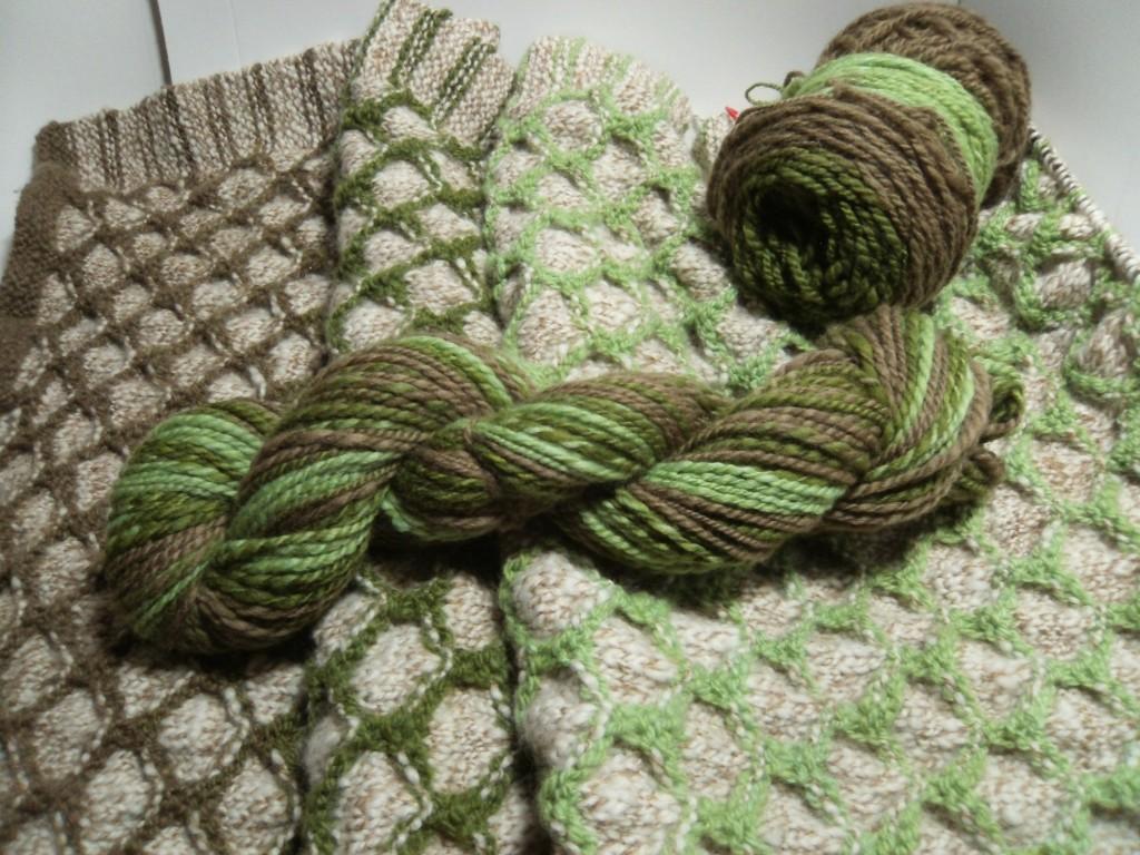 New Hue Handspuns shawl