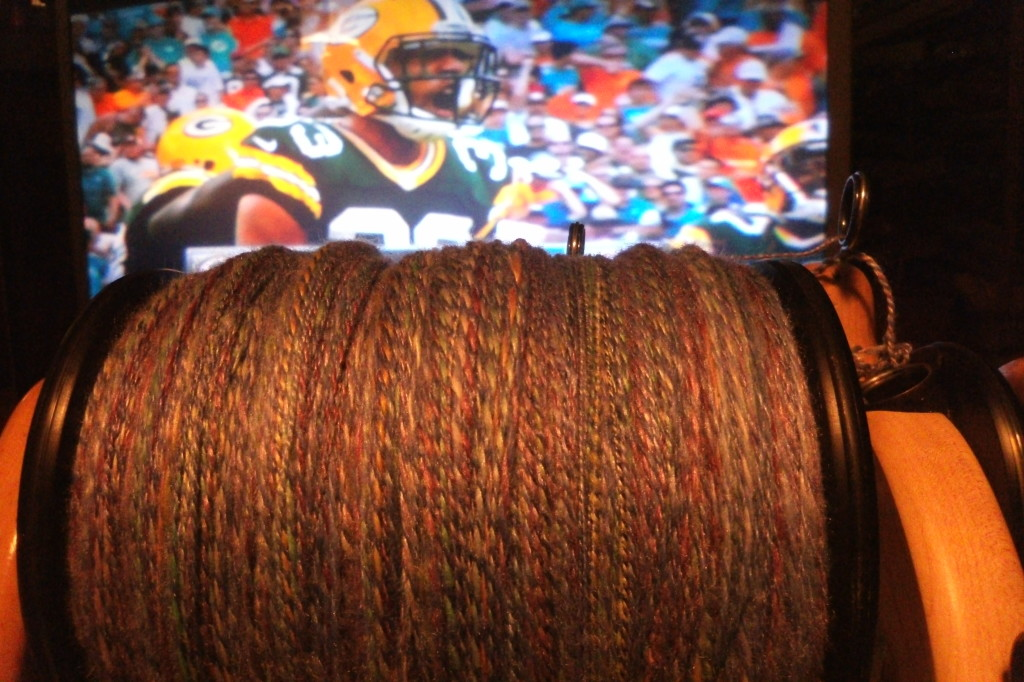 The Green Bay Packers and Spinning, just for you Miss Lyons!