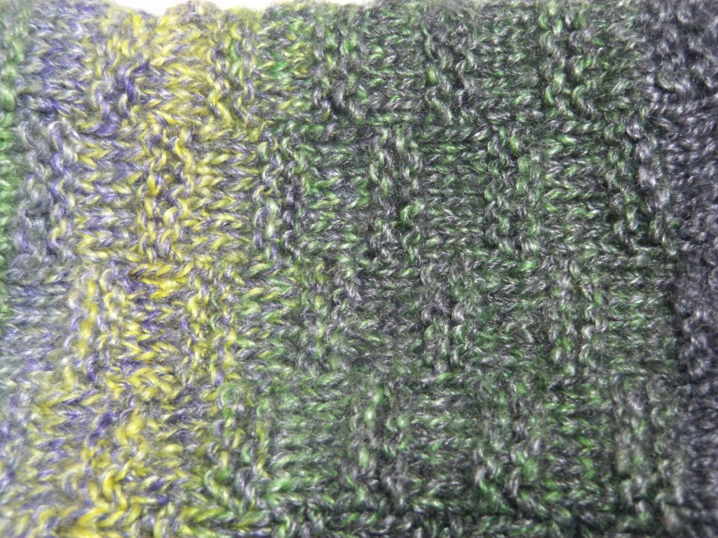 The Green Comet in 4 ply Cable.