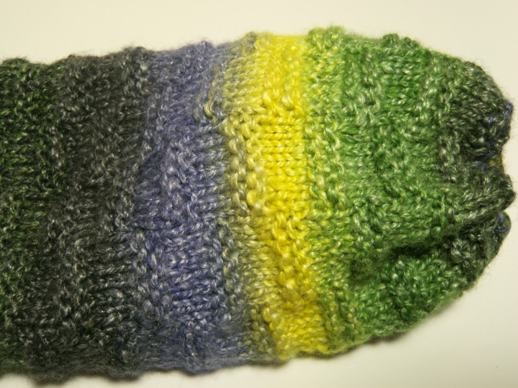 The Green Comet, 2 ply, with matching singles.